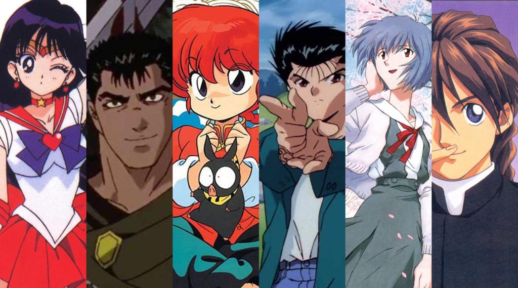 90s Anime Valentine Cover