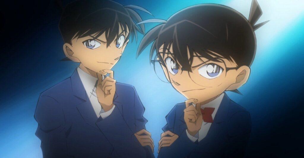 Detective conan leads conan and shinichi