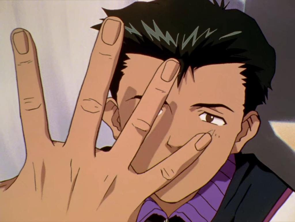 Toji Suzuhara from Neon Genesis Evangelion