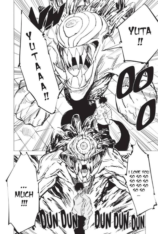 Screenshot from Jujutsu Kaisen volume 0