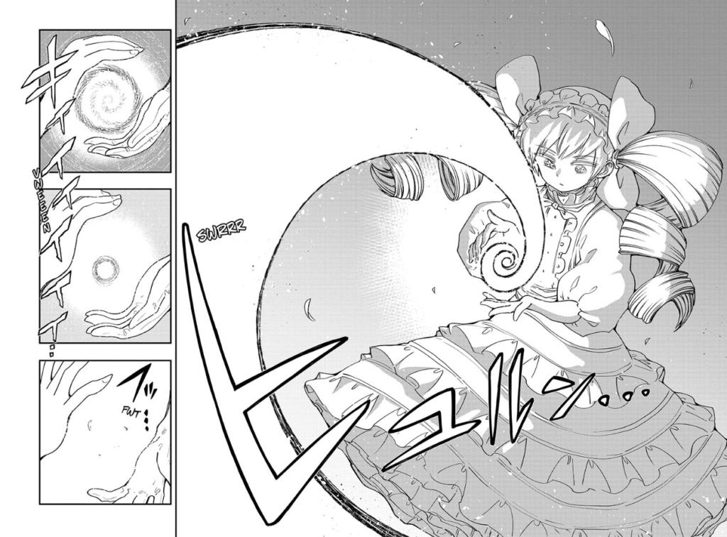 Screenshot from Mission: Yozakura Family chapter 70