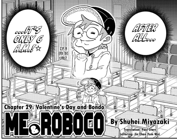 Screenshot from Me & Roboco Chapter 29