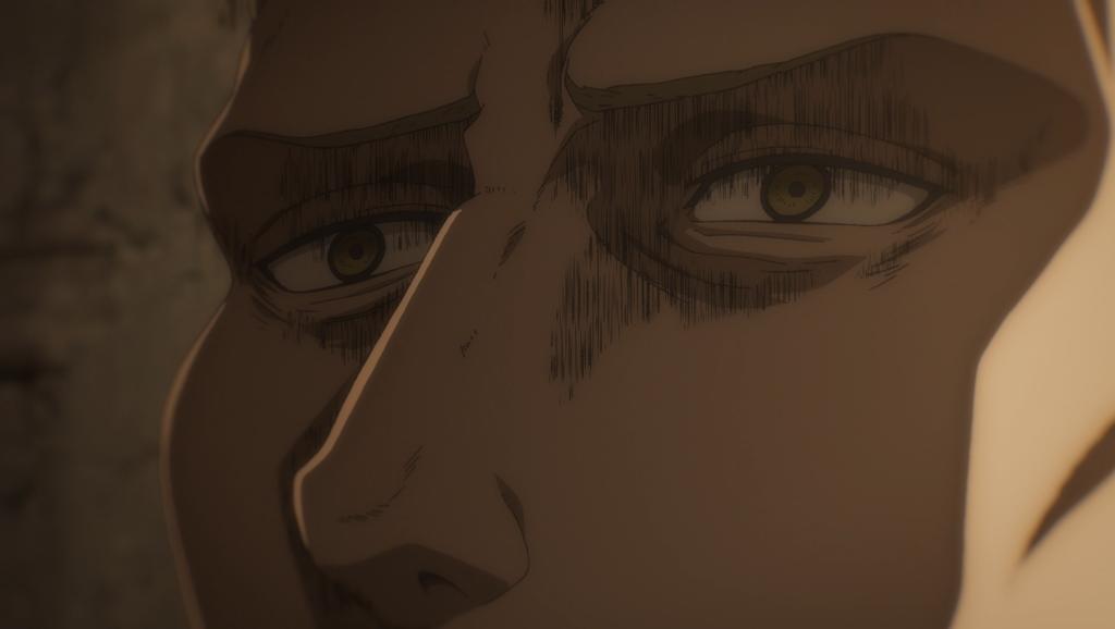 Screenshot from anime Attack on Titan: The Final Season
