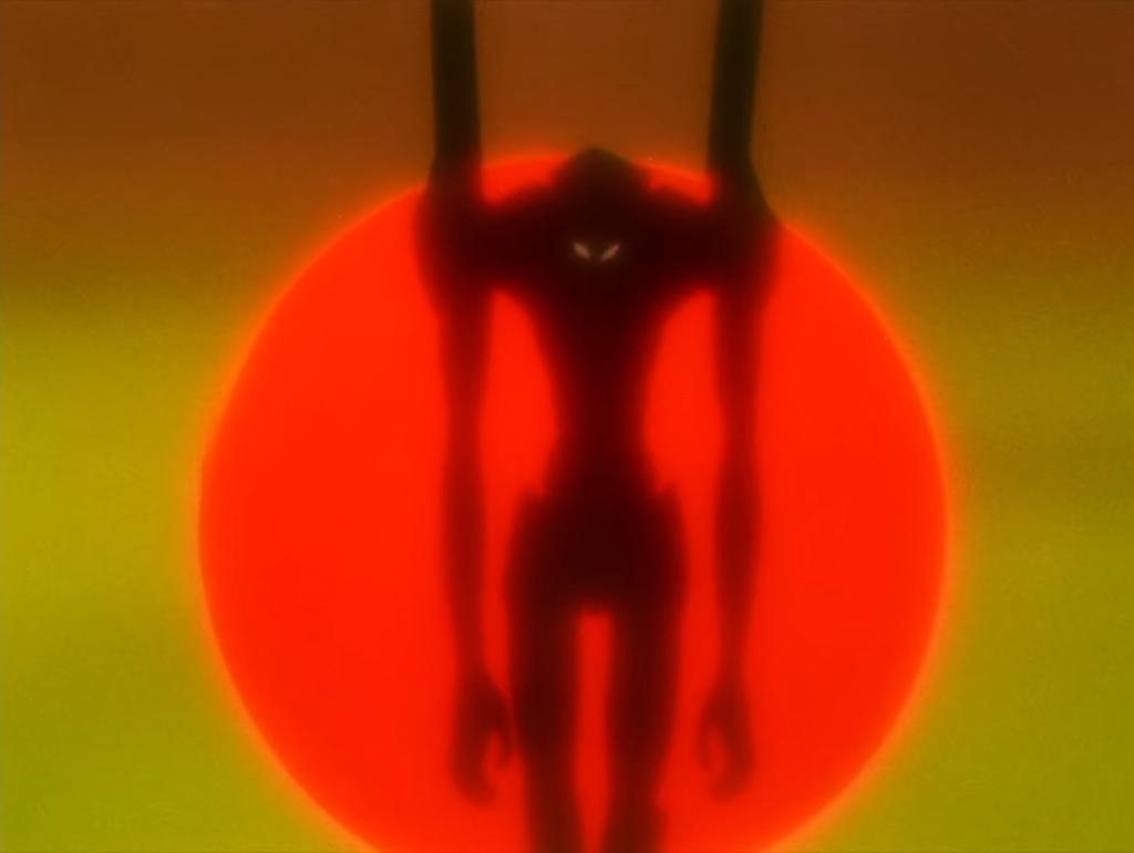 Screenshot from Neon Genesis Evangelion episode 18