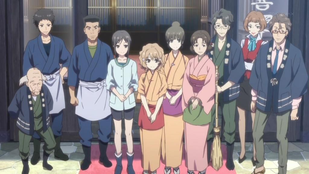 Hanasaku Iroha cozy (anime like yuru camp)