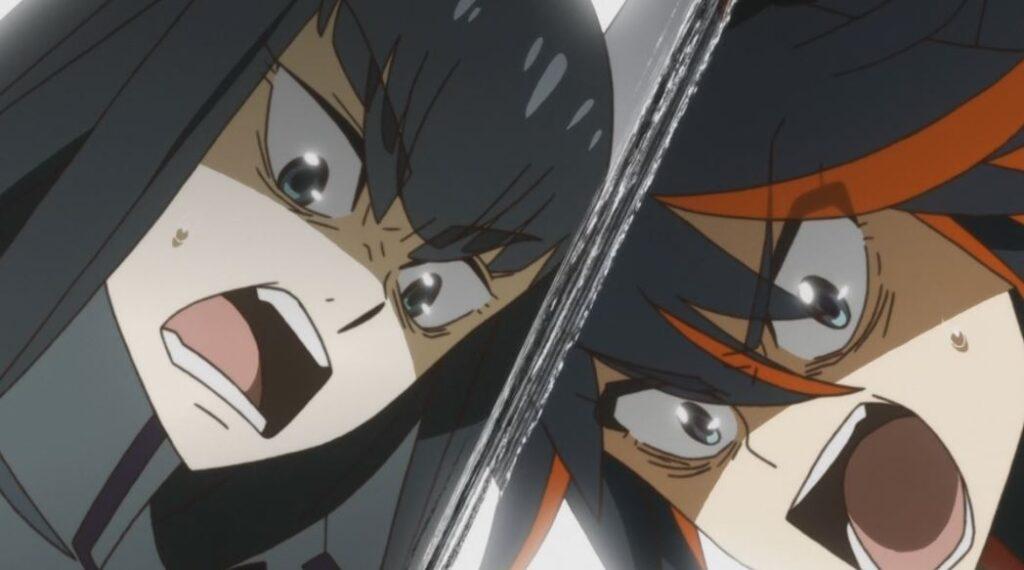 kill la kill satsuki and ryuko