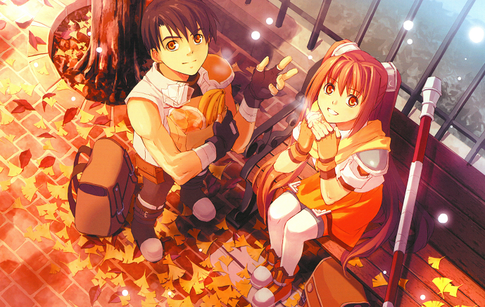 Estelle & Joshua from game Trails in the Sky