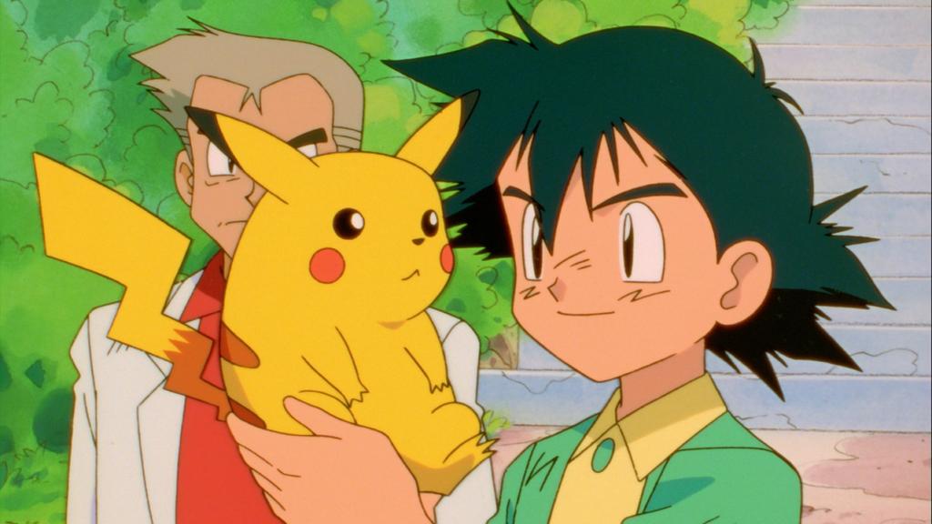 Ash and Pikachu POkemon