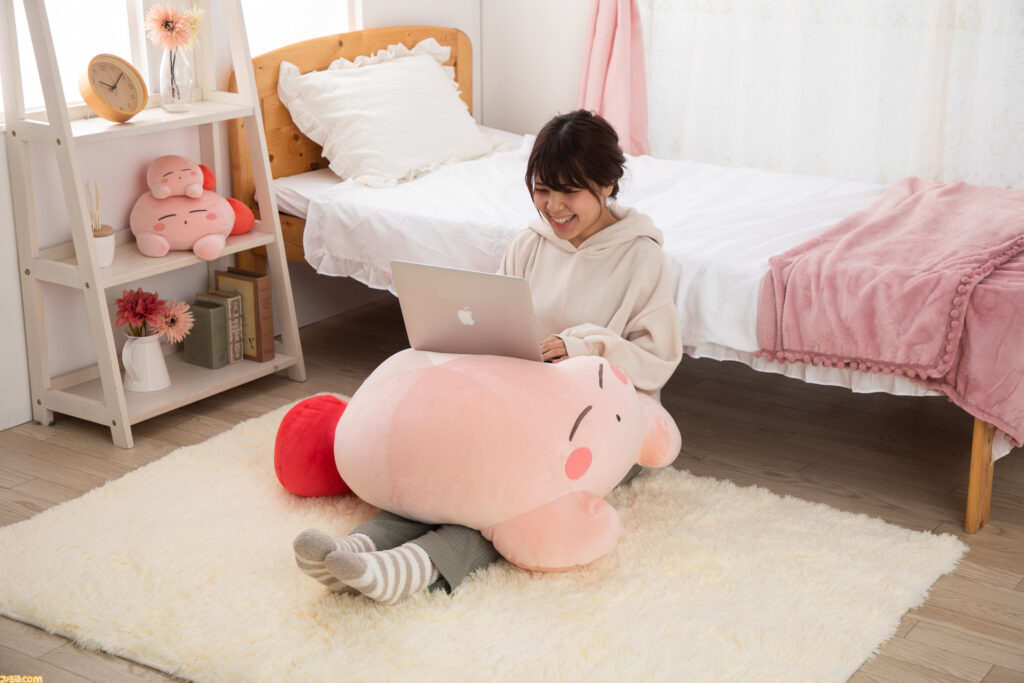 Giant Kirby Plush Cover