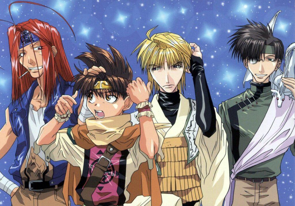 Saiyuki anime