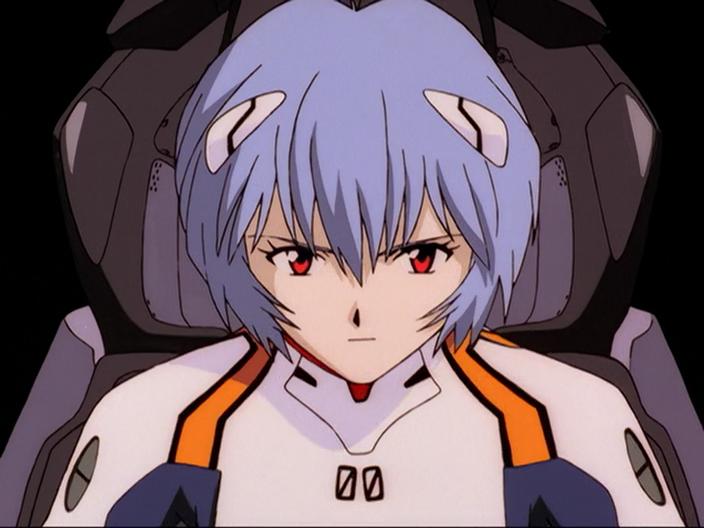 Rei Ayanami from Neon Genesis Evangelion (1995)