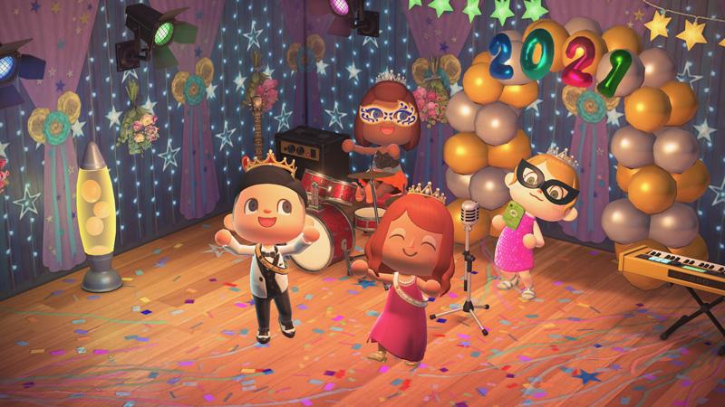 Animal Crossing prom