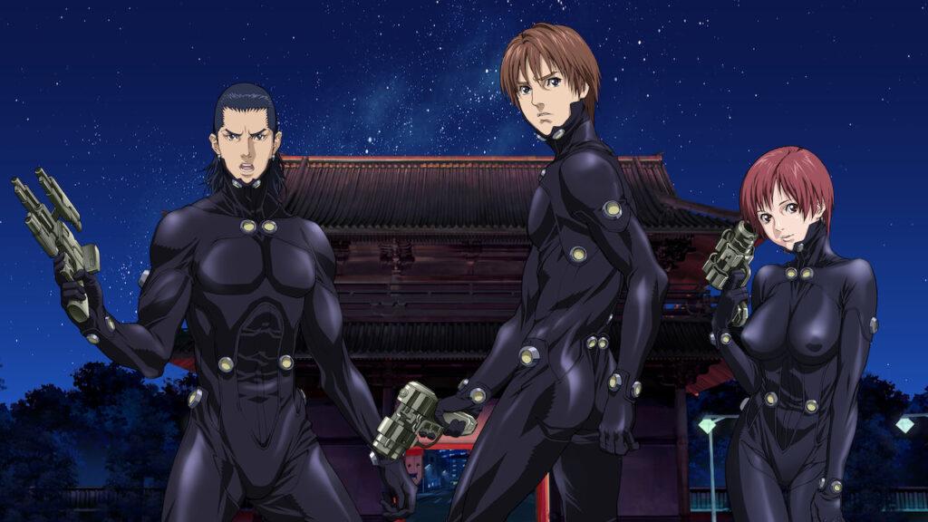 Gantz anime series