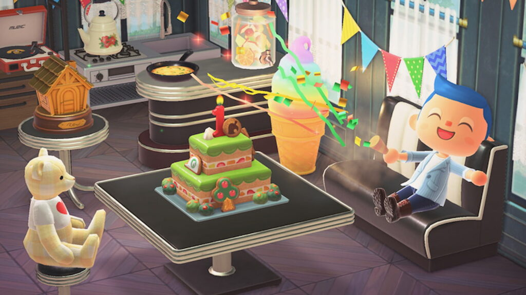 Animal Crossing 1 Year Anniversary