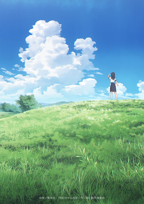 Akebi's Sailor Uniform Anime Visual