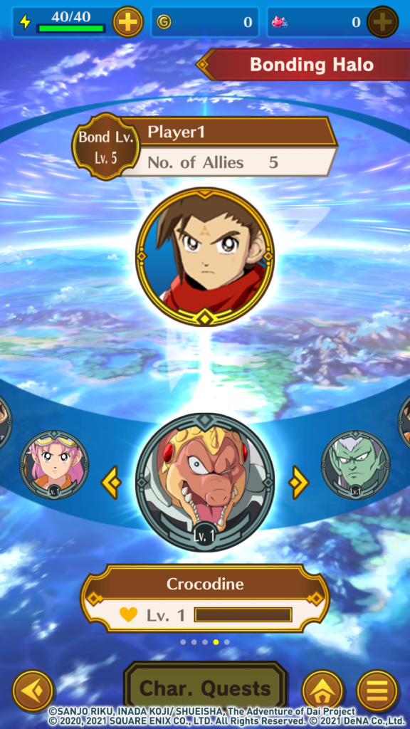 Screenshot from Dragon Quest The Adventure of Dai: A Hero's Bonds