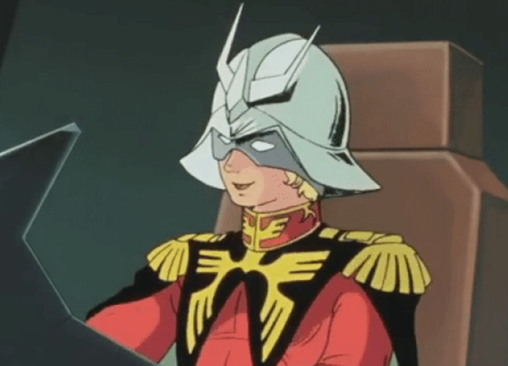 Char from Mobile Suit Gundam Anime
