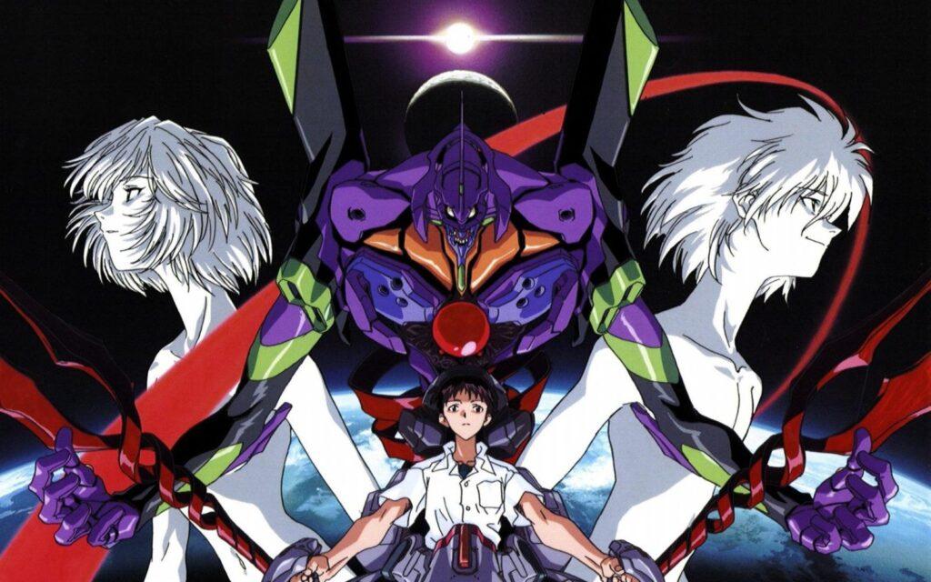 Evangelion anime poster