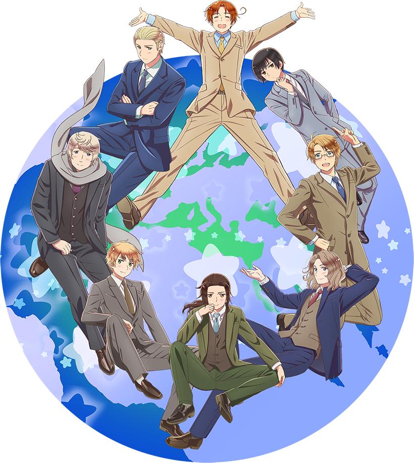 Hetalia World Stars Anime Series