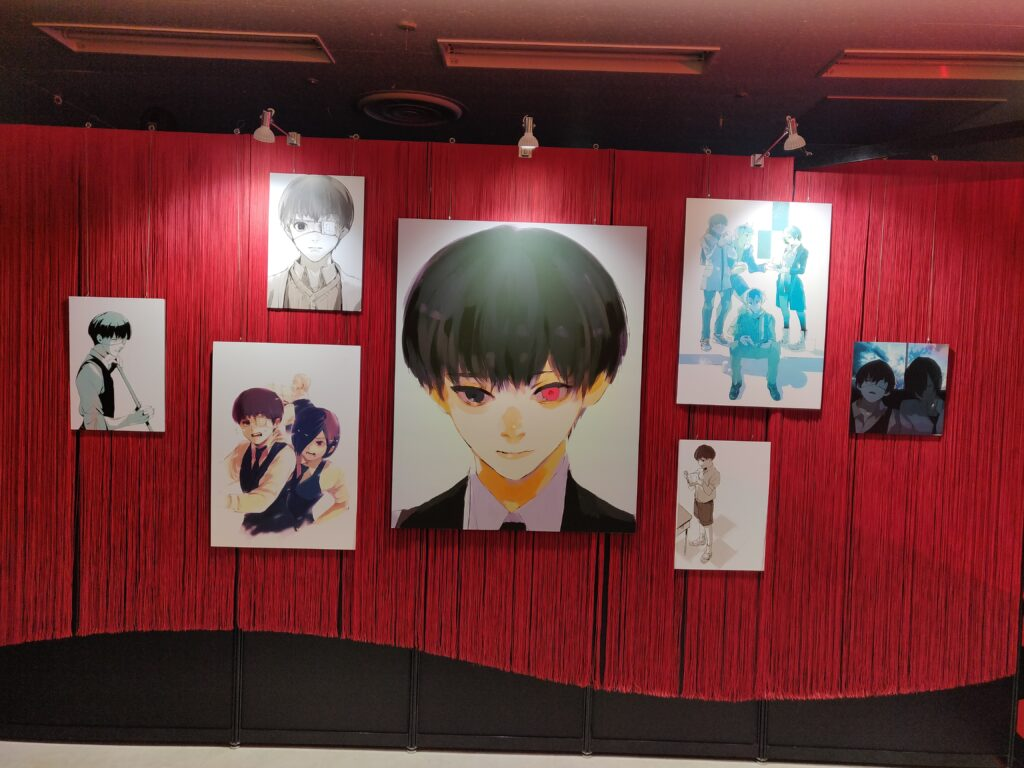 Tokyo Ghoul Exhibit Cover