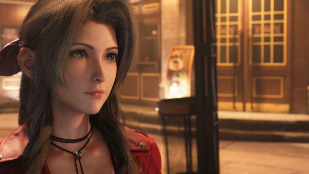Final Fantasy VIi Intergrade Aerith