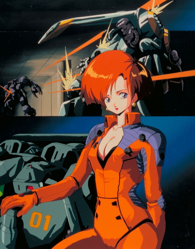 Metal Skin Panic: MADOX-01 Anime visual