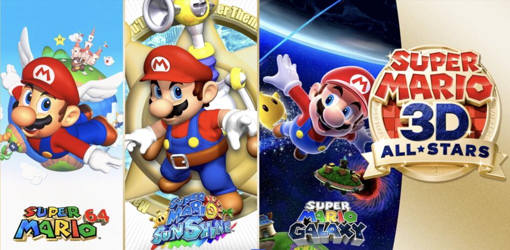 Mario 3D AllStars TOP
