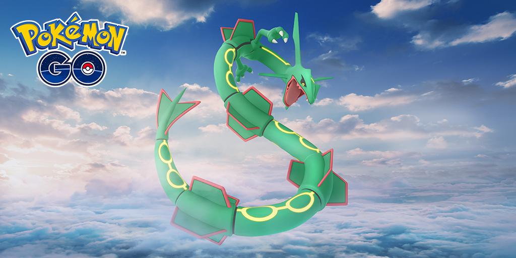 Rayquaza in Pokémon GO