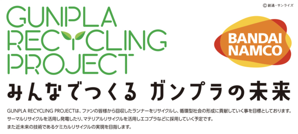 Gunpla Recyling Project