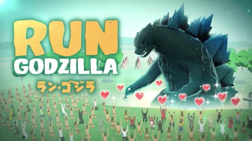 Run Godzilla, one of three Godzilla games from Toho