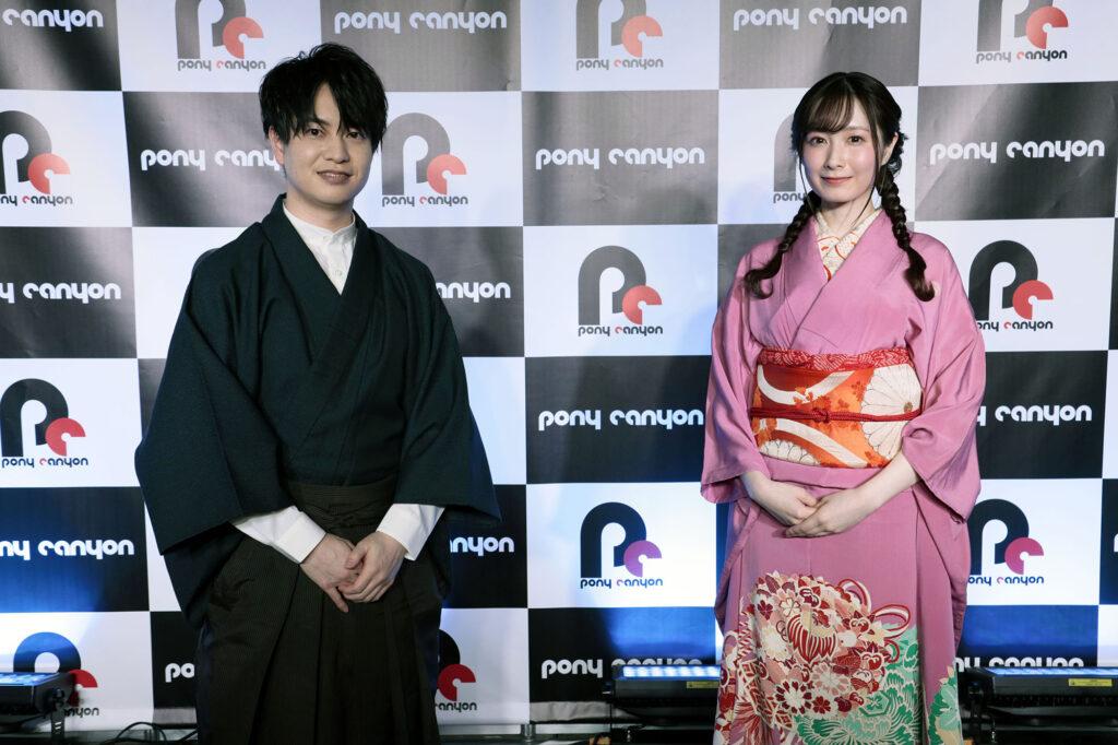 Yusuke Kobayashi and Saya Aizawa Taisho Otome Otogi Banashi