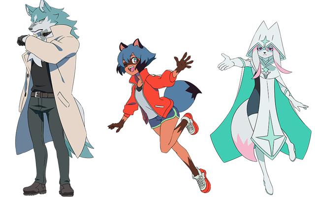 BNA Brand New Animal Characters Anime