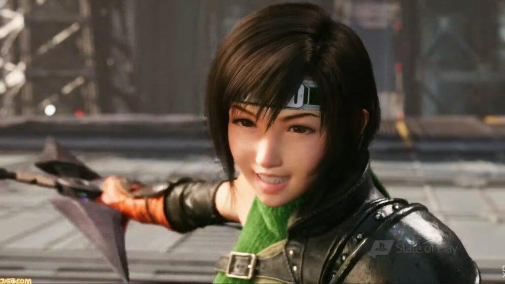 Famitsu, Yuffie from Final Fantasy VII Remake