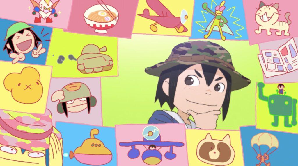 eizouken midori's imagination in opening