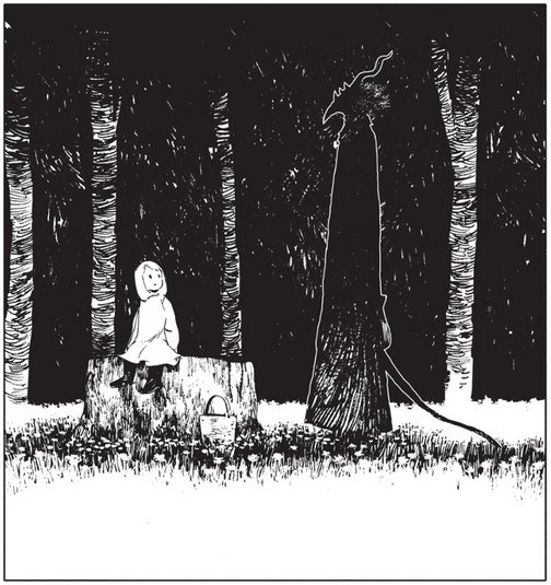 Screenshot from The Girl From the Other Side chapter 1