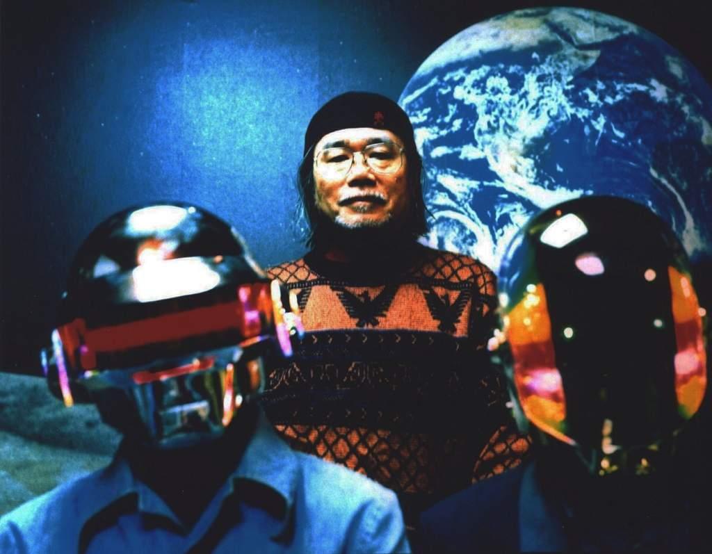 Leiji Matsumoto and Daft Punk