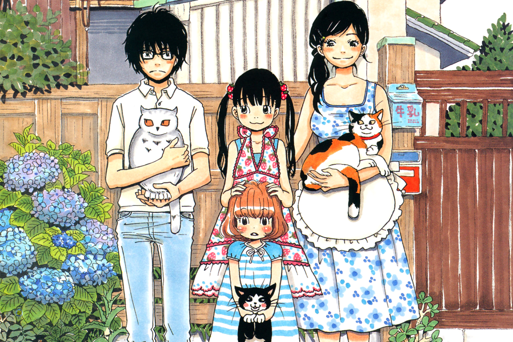 March comes in like a lion manga