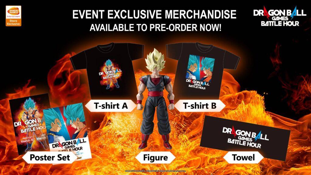 Dragon Ball Games Battle Hour merchandise