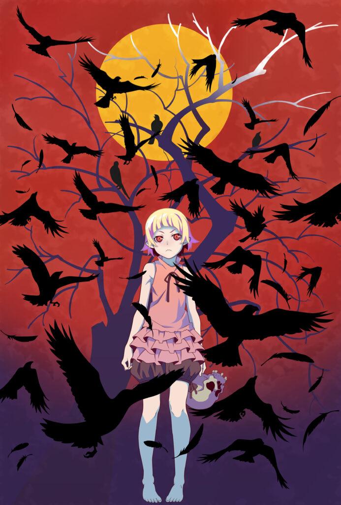 Monogatari Kizumonogatari poster
