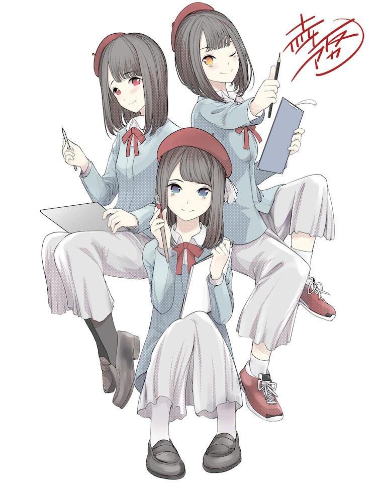 Oekaki Sakamichi season 2 illustration