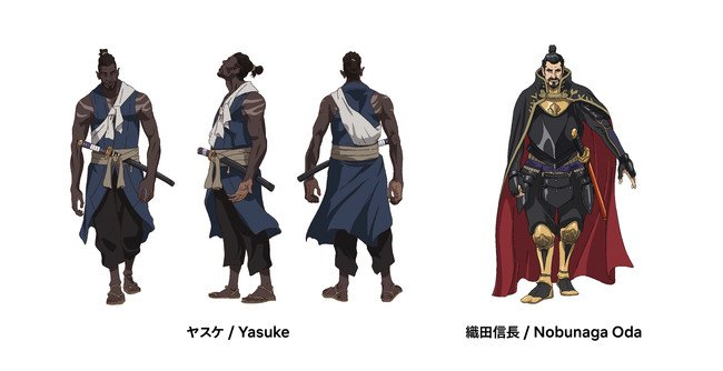 Yasuke Anime Characters