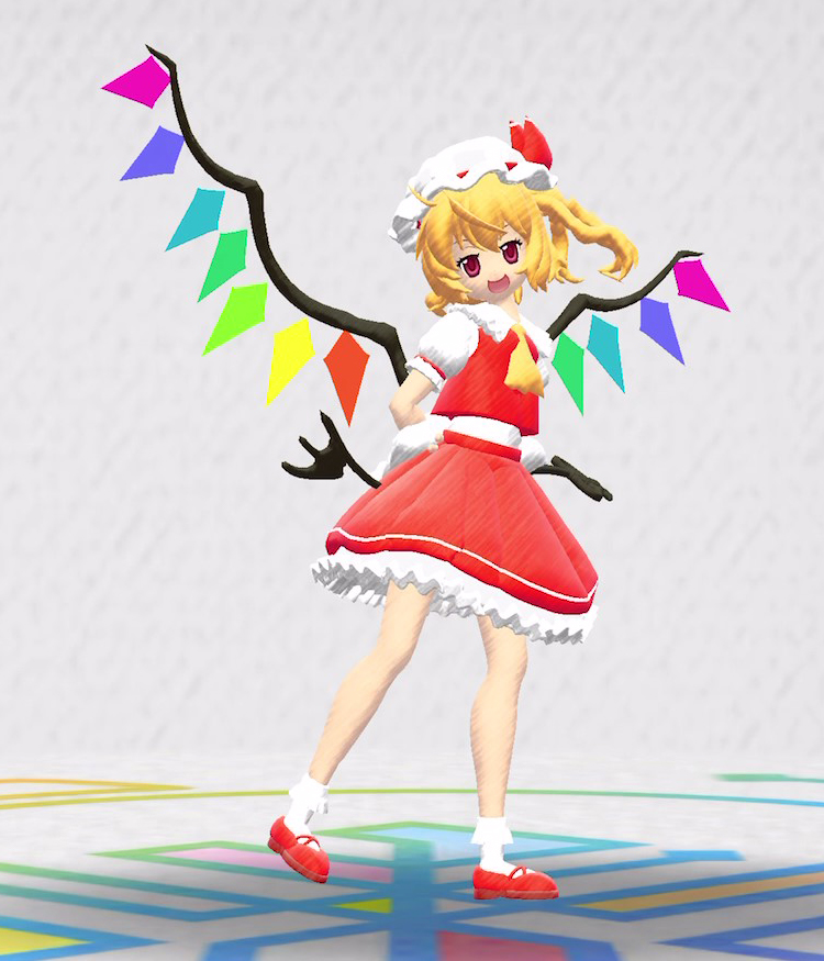 Flandre, Touhou Project, in Rakugaki Kingdom Mobile RPG