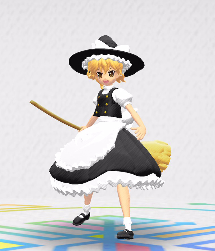 Marisa, from Touhou Project, Will Appear in Rakugaki Kingdom Mobile RPG