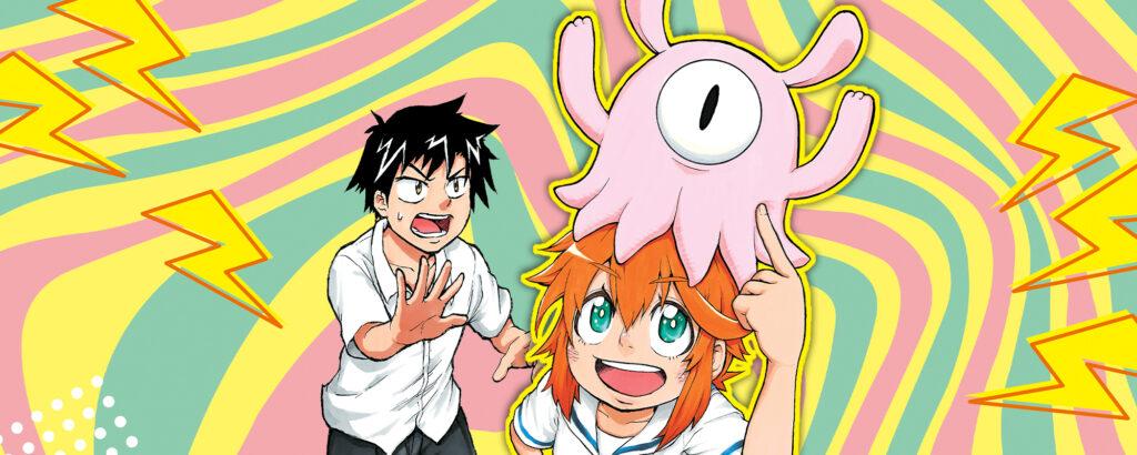 Magu-chan VIZ Media Shonen Jump banner image