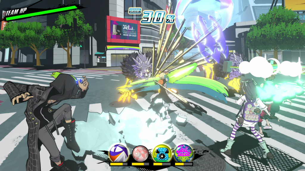 Battle in Neo: The World Ends with You