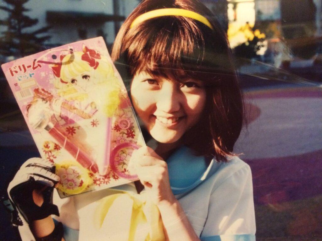 Young Haruko Momoi