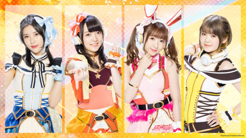 Members of live-action Happy Around!, D4DJ Groovy Mix Gets Global Release