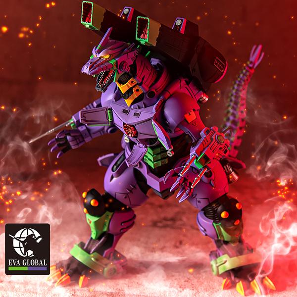 Godzilla vs. EvangelionType 3 KIRYU Eva Unit-01 Color Ver. Plastic Model