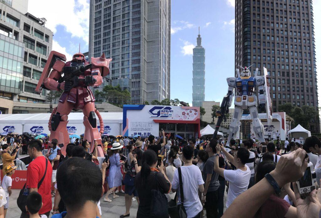 Gundam festival