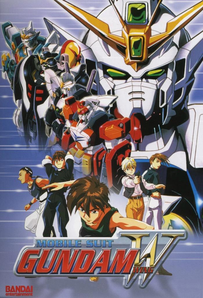 Mobile Suit Gundam Wing poster